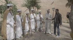 Hamza Namira rend hommage à la Reggada