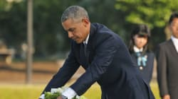 Ιστορική επίσκεψη Ομπάμα στη Χιροσίμα. Κατάθεση στεφανιού χωρίς