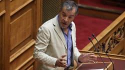 «Μονομαχία» Τσίπρα - Θεοδωράκη στη Βουλή: Έχετε στο επιτελείο σας συνεργάτες του Τσοχατζόπουλου που έχουν κλέψει