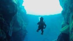 Un vrai paradis en Islande pour les adeptes de plongée