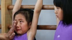올림픽 금메달을 위해 훈련받는 중국의