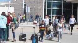 Touristes russes: L'espoir puis un début de