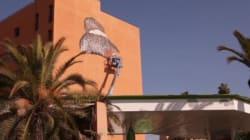 Cette fresque murale faite à Marrakech va prendre vie sous vos yeux
