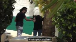 Κοινωνικό πείραμα: Νεαρός χτυπά την κοπέλα του στο κέντρο της Αθήνας. Οι αντιδράσεις των περαστικών θα σας