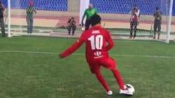 Quand Jamel tente un penalty (et le rate