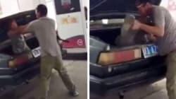 Κίνα: Χτυπάει τη γυναίκα του και τη βάζει στο πορτ