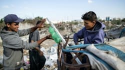 A Gaza, de plus en plus d'enfants deviennent soutiens de