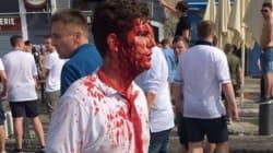 Les images des violences entre supporteurs russes et anglais sur le