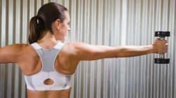 생수병으로 할 수 있는 팔 근육 운동