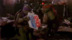 닌자 거북이는 왜 피자를