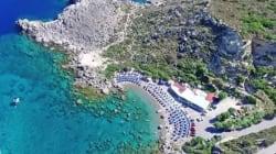 Ρόδος: Η μαγευτική παραλία Άντονυ Κουίν όπου γυρίστηκε η φημισμένη ταινία τα «Τα κανόνια του Ναβαρόνε» σε ένα εκπληκτικό βίντ...