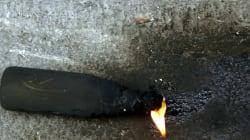 Επίθεση με μολότοφ εναντίον διμοιρίας των ΜΑΤ, στη Χαριλάου