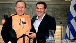 Migrants: un gilet de sauvetage, cadeau de Tsipras à Ban