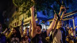 Διαδηλώσεις στην Κωνσταντινούπολη κατά των ισλαμιστών που επιτέθηκαν σε fans των