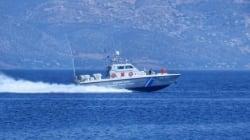 Στο λιμάνι της Κύθνου ρυμουλκείται σκάφος βάρκα με 40