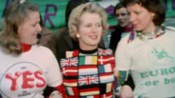 Le Brexit remet ce pull de Margaret Thatcher à la
