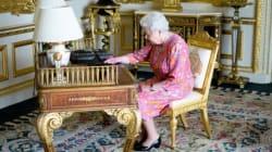 La Reine a tweeté, Buckingham a tweeté la photo de la reine qui