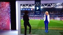 Euro 2016: Δημοσιογράφος μπήκε στο μόνιτορ για να συνομιλήσει με ρεπόρτερ που βρισκόταν στο
