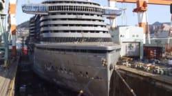 Έχετε δει πως κατασκευάζεται ένα κρουαζιερόπλοιο; Δείτε αλλά σε