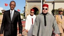 Le roi Mohammed VI en visite au Rwanda