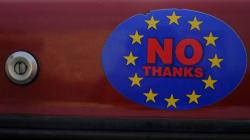 Les Anglais choisissent de sortir de l'UE, une nouvelle histoire de l'Europe se