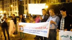 A Rabat, Une manifestation pour abolir l'article 222 du code