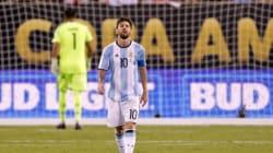 Lionel Messi met un terme à sa carrière internationale avec