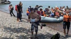 Ένας ωκεανός αισθήματα. Ο πρόσφυγας που κουβαλά στα χέρια το παιδί του και στην πλάτη την τυφλή γυναίκα