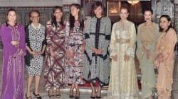 Michelle Obama et ses filles invitées à un ftour avec Lalla