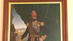 Un portrait de Sadok Bey trône à la salle Benjamin Franklin au département d'État