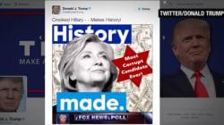 트럼프, '反유대인 트윗'을 뒤늦게