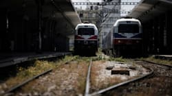 Ακινητοποημένα τα τρένα και ο προαστιακός έως και την Τρίτη 12