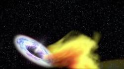 Υπερμεγέθης μαύρη τρύπα «καταβροχθίζει» ένα αστέρι και οι επιστήμονες μπόρεσαν να το