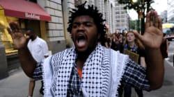 미국 전역 '경찰 흑인 총격 살해'