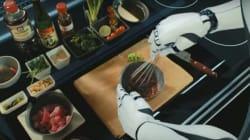 Cuisiner comme un grand chef sans utiliser ses mains? C'est maintenant possible