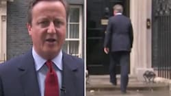 Ignorant que son micro était allumé, David Cameron a fredonné. Oui, mais