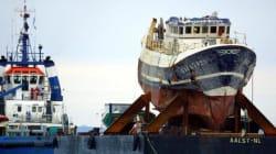 Un sous-marin portugais pris dans le filet d'un chalutier