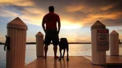 Il emmène son chien atteint d'un cancer dans un dernier road