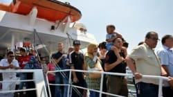 Lancement de la ligne maritime