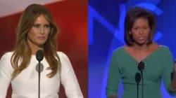 Melania Trump a (beaucoup) copié Michelle Obama pour son