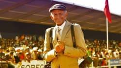 Mohamed L'Marrakchi, 72 ans, photographe de la Semaine du cheval depuis 32 ans