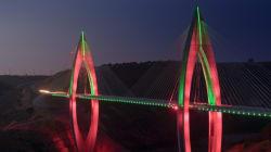 Le pont à haubans de Rabat