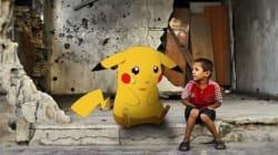 En Syrie, des Pokémons en larmes parmi les