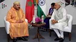 Des hommes d'affaires indiens en mission au