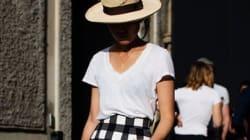7 ιδέες για να φορέσετε το λευκό σας μπλουζάκι με ξεχωριστό και κομψό