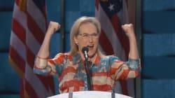 Συνέδριο Δημοκρατικών: Η κραυγή της Meryl Streep και η σκληρή σάτιρα των Dunham, Ferrera, Banks για τον