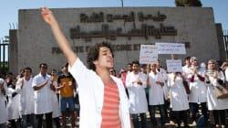Nouvelle manifestation des étudiants en médecine au