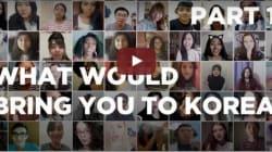 외국인들이 한국에 오고 싶어 하는 이유