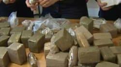 Deux tonnes de haschisch marocain saisies au