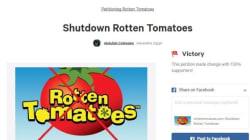 '수어사이드 스쿼드' 팬들이 로튼토마토 폐간 운동을